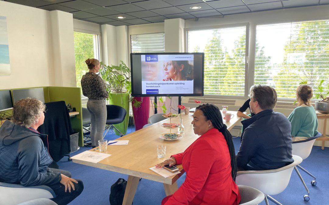 Informatieve voorlichtingsbijeenkomst voor de opleiding tot Herstelcoach